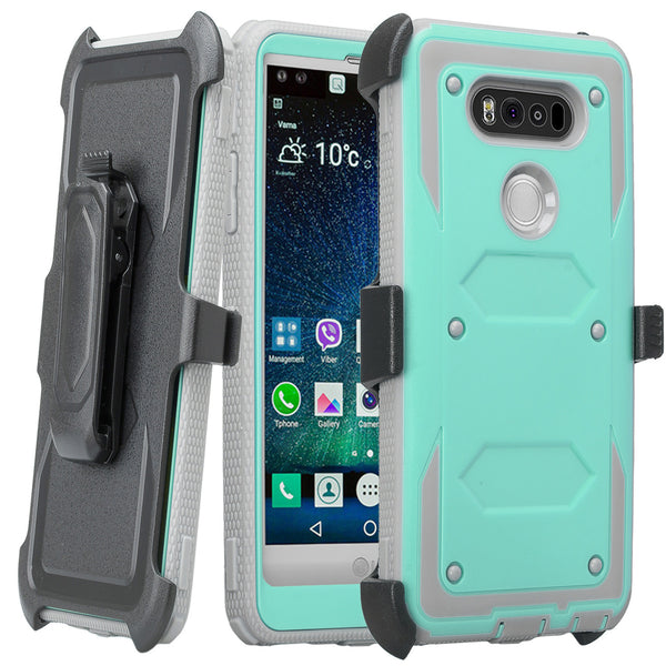 V20 case, v20 holster shell | heavy duty | teal