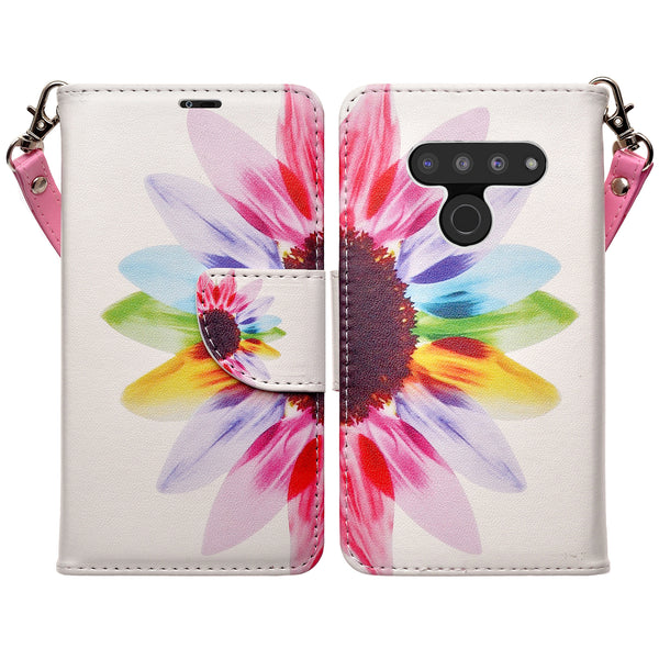 LG G8 ThinQ Wallet Case - vivid sunflower - www.coverlabusa.com