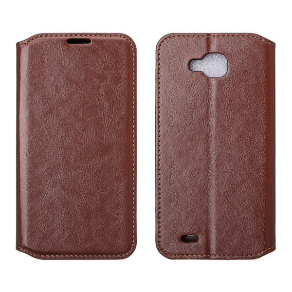 LG V9 Wallet Case - brown - www.coverlabusa.com