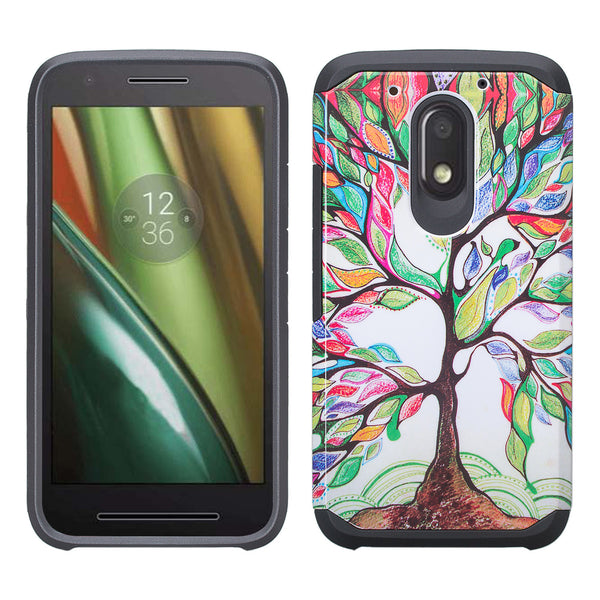 motorola moto G4 play case - colorful tree - www.coverlabusa.com