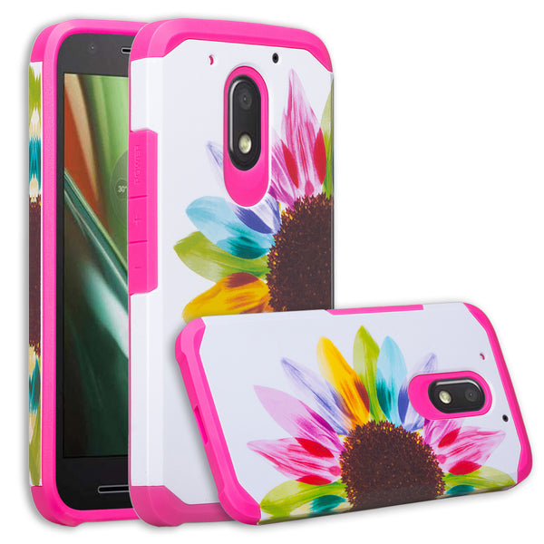 motorola moto G4 play case - vivid sunflower - www.coverlabusa.com