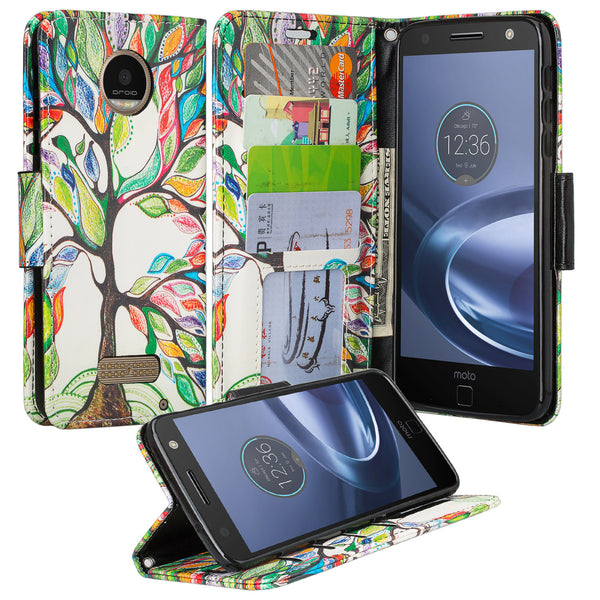 Moto Z Droid Wallet Case - www.coverlabusa.com