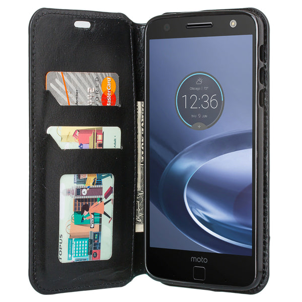Moto z droid Case - Black - www.coverlabusa.com