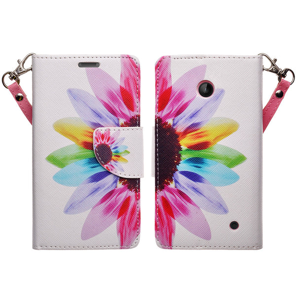 Nokia Lumia 635 Wallet Case -vivid sunflower - www.coverlabusa.com