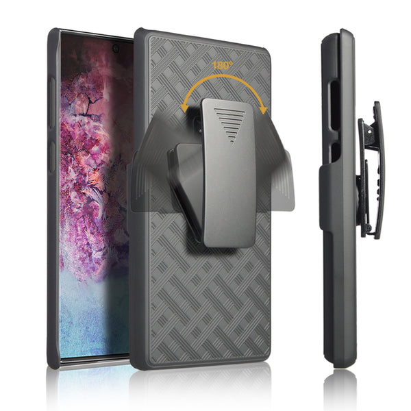 Galaxy note 10 holster shell combo case - www.coverlabusa.com