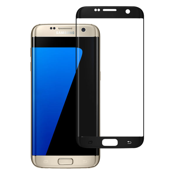 samsung galaxy S6 Edge Plus screen protector, galaxy S6 Edge Plus temper glass - black - www.coverlabusa.com