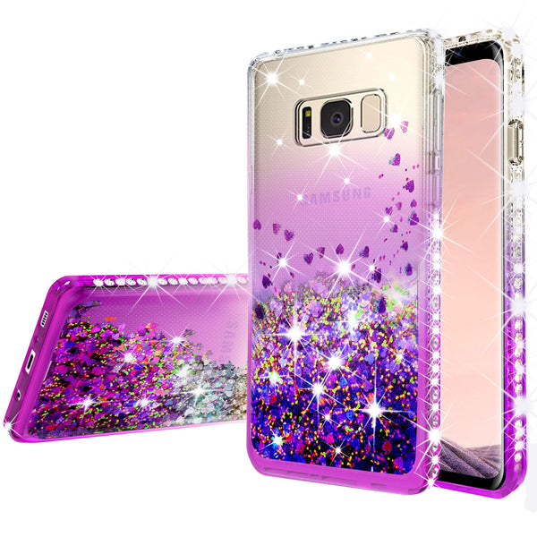 clear liquid phone case for samsung galaxy note 5 - purple - www.coverlabusa.com