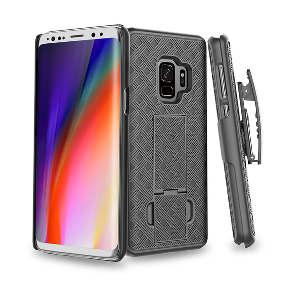 Galaxy S9 holster shell combo case - www.coverlabusa.com