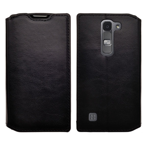 lg volt2 wallet case - black - www.coverlabusa.com