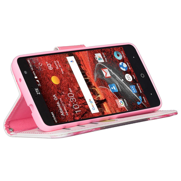 zte grand x4 vivid sunflower wallet case - www.coverlabusa.com