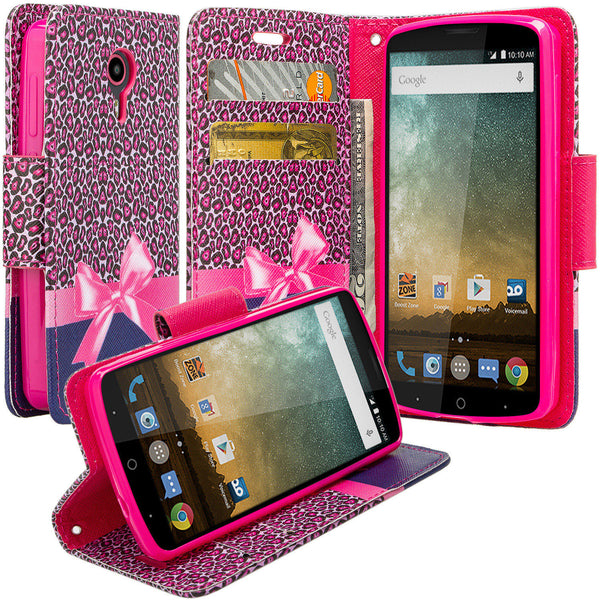ZTE Ultra Case | ZTE Uhura | ZTE Quest Wallet Case - cheetah prints - www.coverlabusa.com