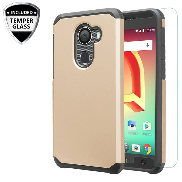 alcatel a30 plus case - gold - www.coverlabusa.com
