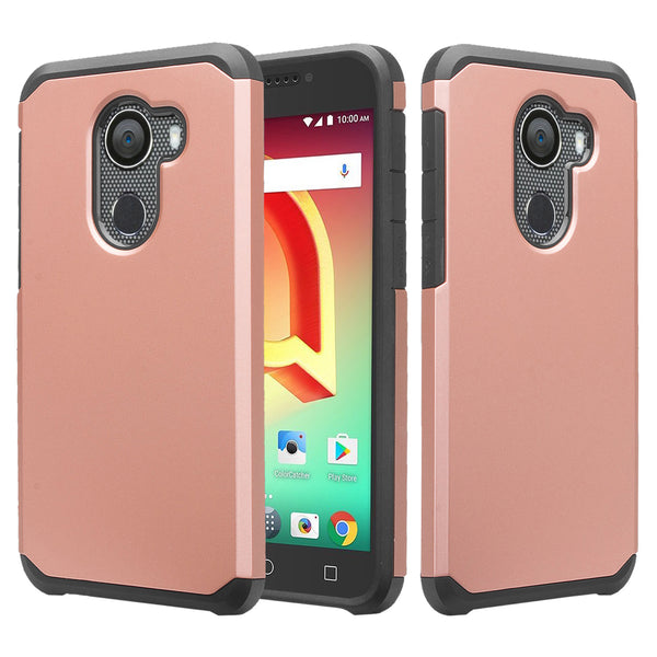 alcatel a30 plus case - rose gold - www.coverlabusa.com
