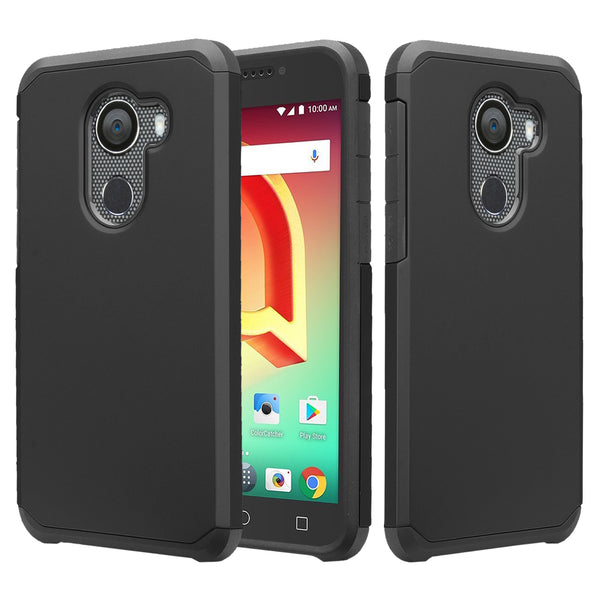 alcatel a30 plus case - black - www.coverlabusa.com