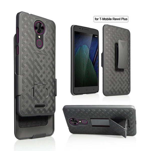 coolpad revvl plus holster shell combo case - www.coverlabusa.com