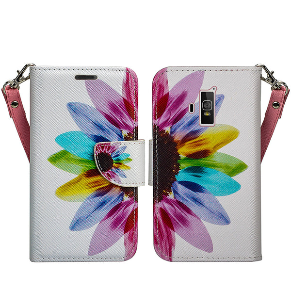 coolpad rogue wallet case - vivid sunflower - www.coverlabusa.com