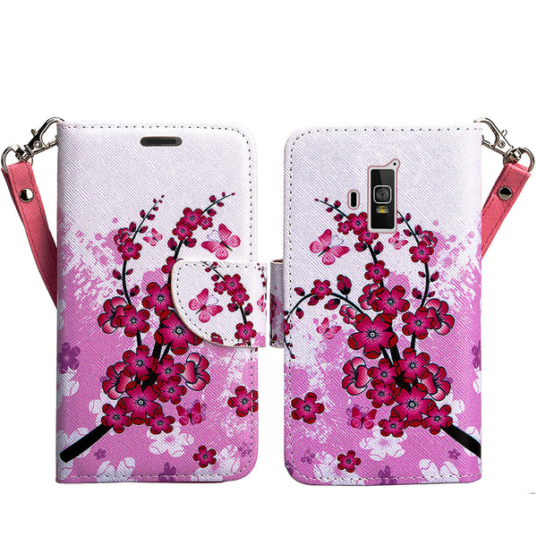 coolpad rogue wallet case - cherry blossom - www.coverlabusa.com