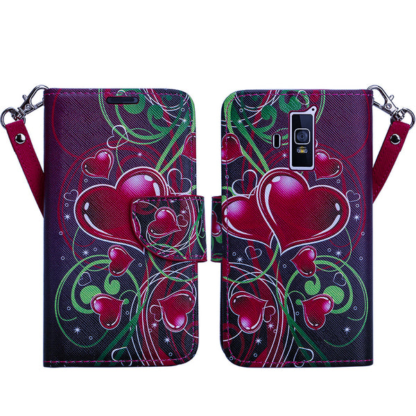coolpad rogue wallet case - heart strings - www.coverlabusa.com
