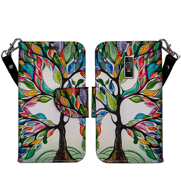 coolpad rogue wallet case - colorful tree - www.coverlabusa.com