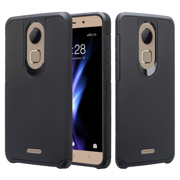 coolpad revvl plus case - black - www.coverlabusa.com