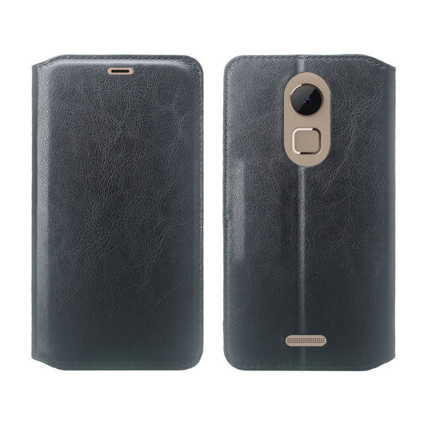 Coolpad REVVL Plus Wallet Case - Black - www.coverlabusa.com