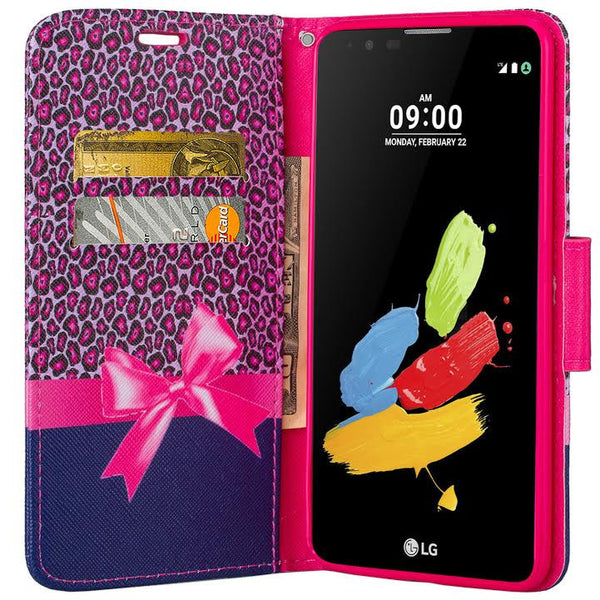 LG Stylo 2 Plus Wallet Case - cheetah print - www.coverlabusa.com