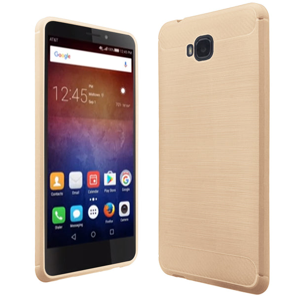 Huawei Ascend XT case - brush gold - www.coverlabusa.com