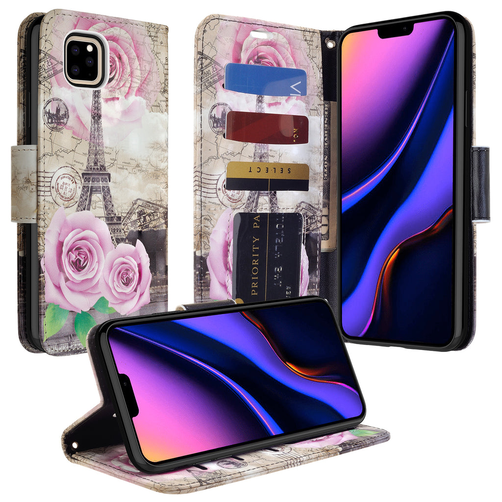 apple iphone 11 wallet case - paris - www.coverlabusa.com