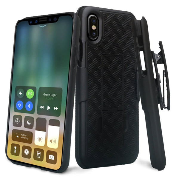 apple iphone x, iphone 10 holster case  - www.coverlabusa.com