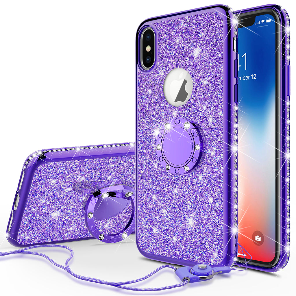 sparkly iphone xs max case