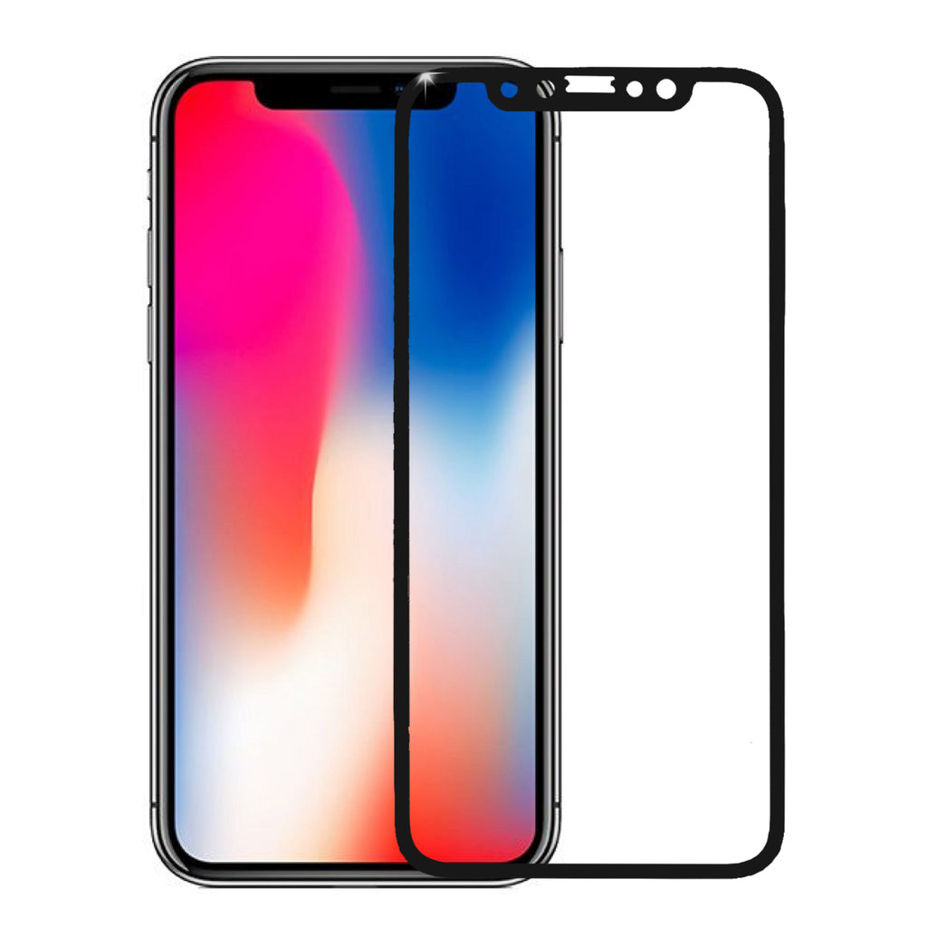 promo code b0292 ab43b iPhone X, iPhone 10, iPhone Ten Temper Glass [Case Friendly Edition], Apple  iPhone X Anti-Scratch Curve Full Screen Coverage Edge to Edge Tempered ...