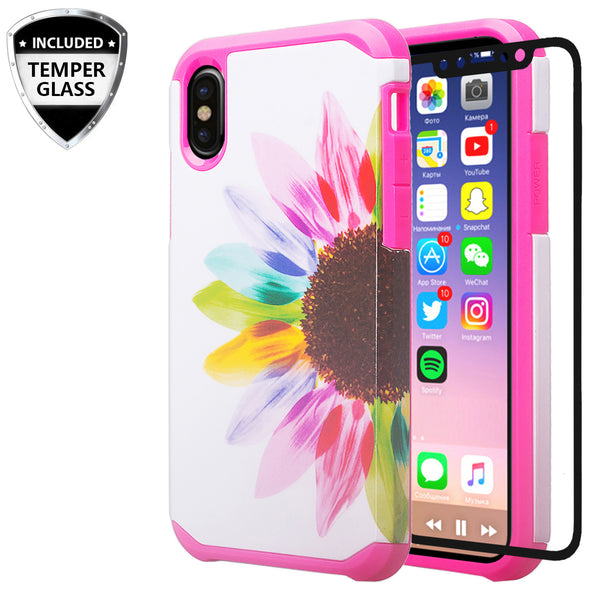 apple iphone xr hybrid case - vivid sunflower - www.coverlabusa.com