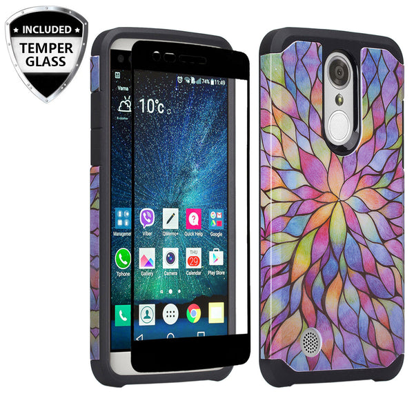 lg aristo hybrid case - rainbow flower - www.coverlabusa.com