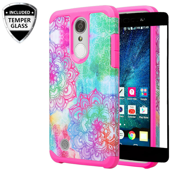 lg aristo case - hybrid teal flower - www.coverlabusa.com