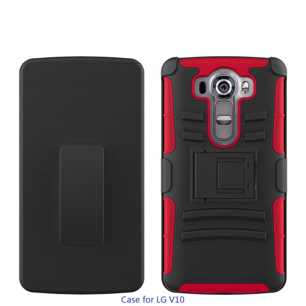 lg v10 case - holster - red - www.coverlabusa.com