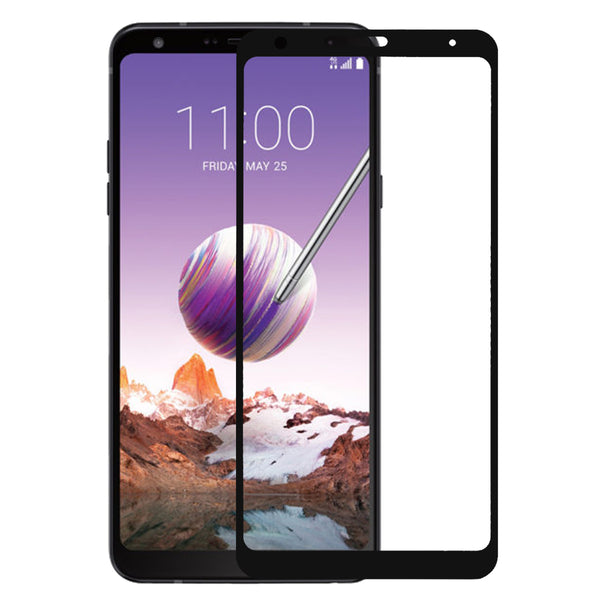 lg stylo 5 screen protector tempered glass - black - www.coverlabusa.com
