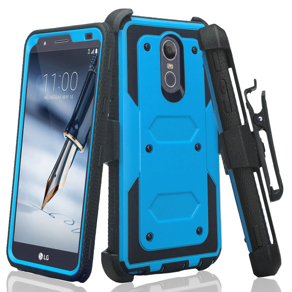 lg escape plus heavy duty holster case - blue - www.coverlabusa.com