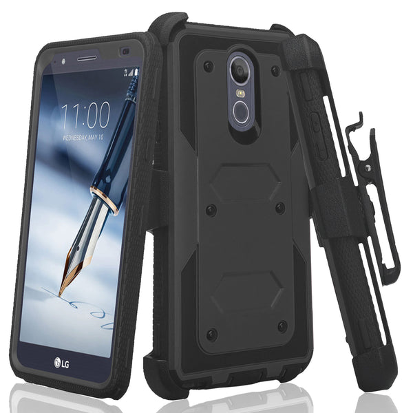 lg escape plus heavy duty holster case - black - www.coverlabusa.com