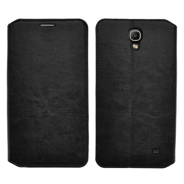 samsung galaxy mega 2 leather wallet case - black - www.coverlabusa.com