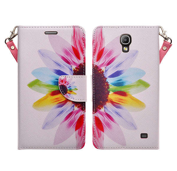 samsung galaxy mega 2 leather wallet case - vivid sunflower - www.coverlabusa.com