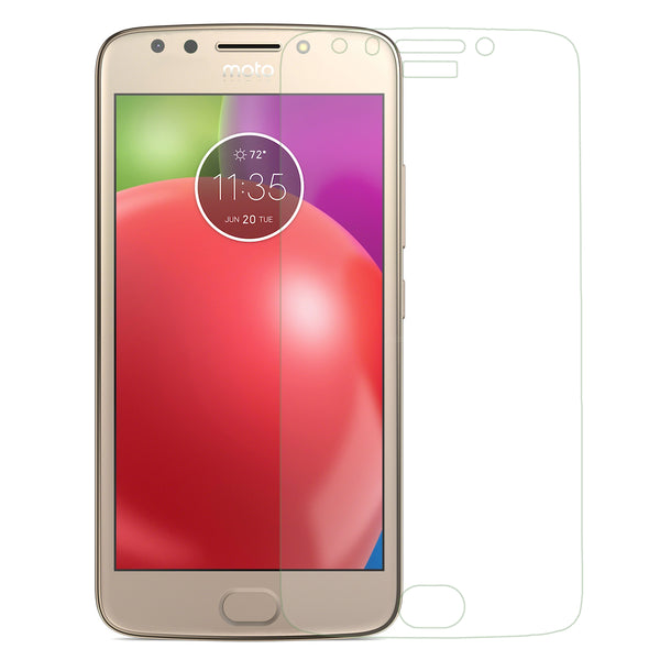 motorola moto e4 screen protector tempered glass - clear - www.coverlabusa.com