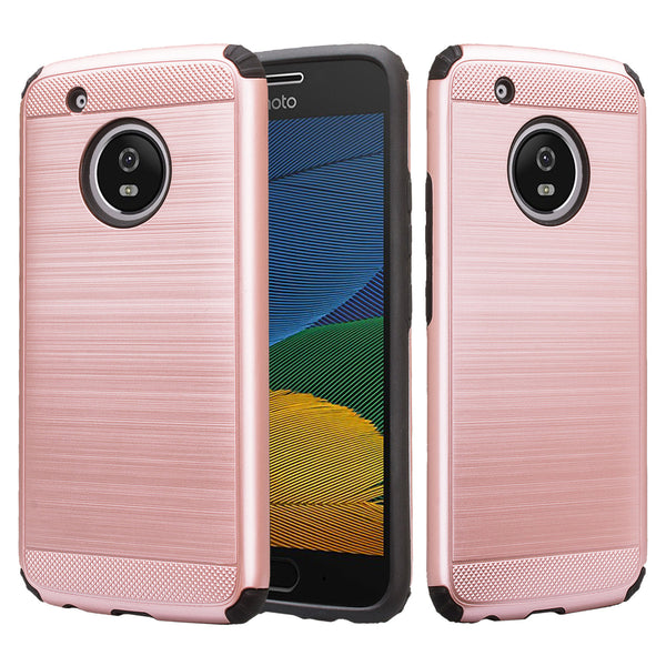 Motorola Moto G5 - Brush - Rose Gold,WWW.COVERLABUSA.COM