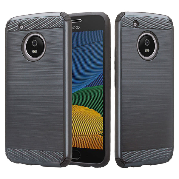 Motorola Moto G5 - Brush - Black,WWW.COVERLABUSA.COM