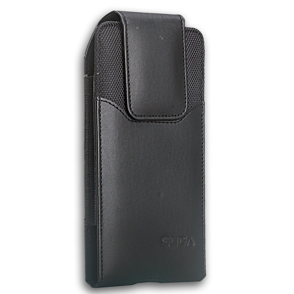 check out 29cd5 519c3 Galaxy Note 8 Case, Samsung Galaxy Note 8 Holster Case, Leather Holster  Pouch Case with Belt Clip, Leather ID Wallet Case for Samsung Galaxy Note 8