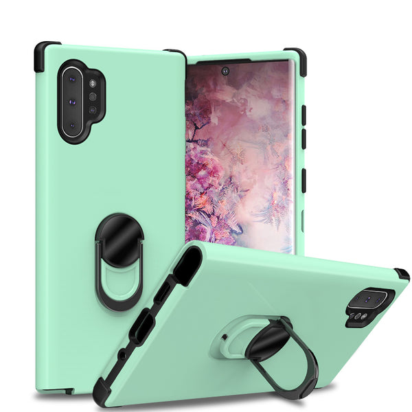 samsung galaxy note 10 plus sgp ring - teal/black - www.coverlabusa.com