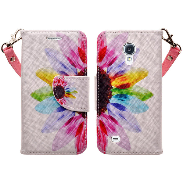 samsung galaxy s4 mini leather wallet case - vivid sunflower - www.coverlabusa.com