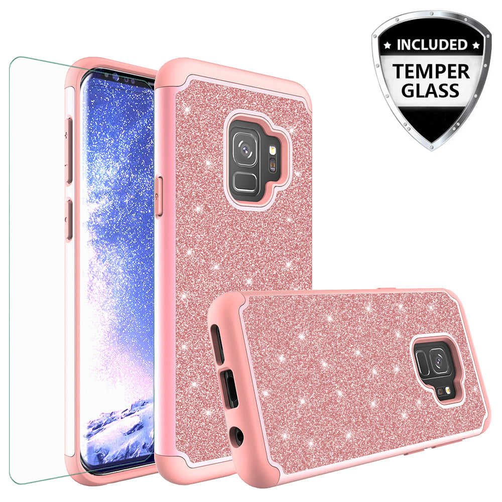 samsung galaxy s9 sparkly case