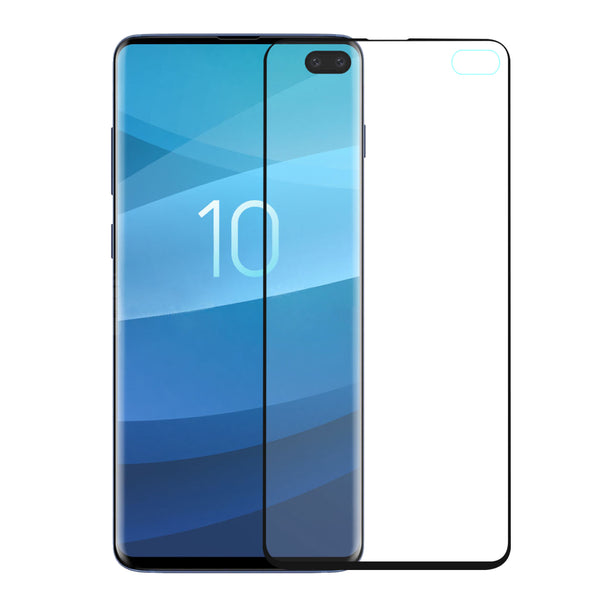 samsung galaxy s10 plus 3d pet  screen protector - black - www.coverlabusa.com