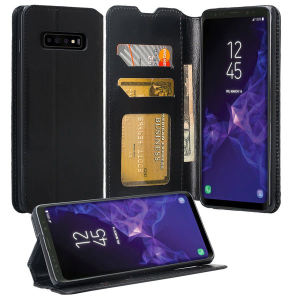 Samsung Galaxy S10 Plus Wallet Case - black - www.coverlabusa.com