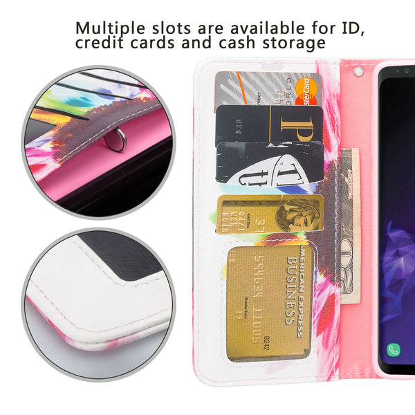 Samsung Galaxy S10 Wallet Case - vivid sunflower - www.coverlabusa.com